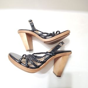 Michael Kors Shoes - Michael Kors wooden heel 8.5M